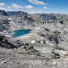 Raue Berglandschaft
