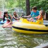 Spaß in den Bumperbooten auf der Spaßinsel