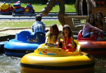 In den Funparks kommen vor allem die Kids auf ihre Kosten