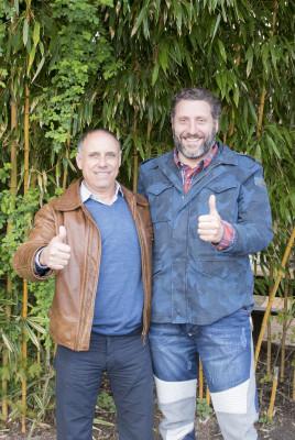 Park-Inhaber und Geschäftsführung vom Serengeti-Park Hodenhagen: Giovanni Sepe und Fabrizio Sepe