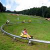 Die Sommerrodelbahn Hohe Wand Wiese hat insgesamt 14 Kurven.