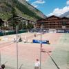 Tennis-Courts in der Sport- und Freizeitarena Zermatt