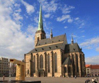 Die Bartholomäus Kathedrale in Pilsen
