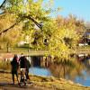 Lange Spaziergänge sind auch im Herbst im Washington Park ein Erlebnis.
