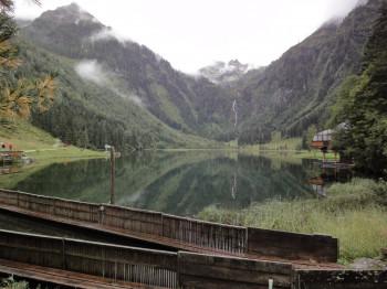 Blick vom Nordufer über den Steirischen Bodensee