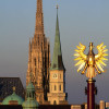 """Der hohe Südturm des Doms wird von der Bevölkerung Wiens auch """"Steffl"""" genannt."""