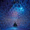 Im Inneren des Riesen befinden sich die Wunderkammern mit dem eindrucksvollen Kristalldom.