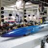 """Die """"Blue Flame"""" ist das schnellste Auto der Welt."""