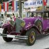 Die Mercedes-Benz Sammlung zeigt Oldtimer-Exponate.