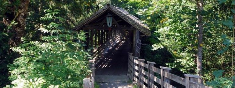 Bereits im Jahr 1876 wurde die Teufelsbrücke erbaut.