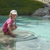 Timoks Wasserspiele sorgen für Planschvergnügen und eine Erfrischung an heißen Sommertagen.