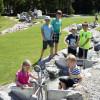 Kinder können in Timoks Wilder Welt inspirierende Wasserspiele erkunden.
