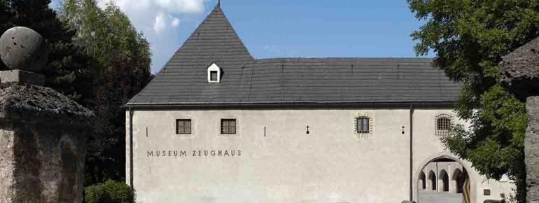 Das Museum im Zeughaus von außen.