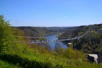Keine frei hängende Brücke in Deutschland ist länger als die Titan RT im Harz.