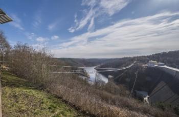 Mit einem frei hängenden Stück von 458 Metern ist die Hängeseilbrücke im Harz unter den längsten weltweit.