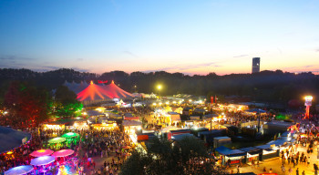Das Sommerfestival im Olympiapark.