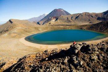 """Die """"Blue Lakes"""" im Tongariro-Nationalpark."""