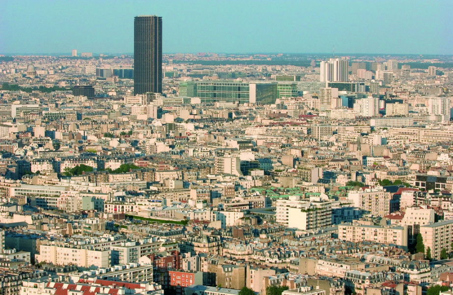 bilder tour montparnasse in paris fotos impressionen. Black Bedroom Furniture Sets. Home Design Ideas