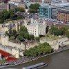 Der Tower of London aus der Vogelperspektive