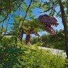 Ein Tyrannosaurus im Triassic Park
