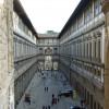 Die Uffizien mit dem verbindenden Vasalikorridor in der Mitte.