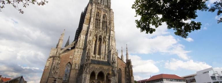 Außenansicht des Ulmer Münsters