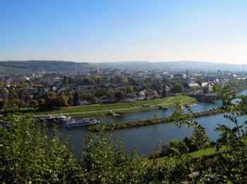 Panoramablick auf Trier