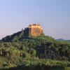 Die Burg ist schon von weitem gut sichtbar.