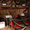 Im Museumsstadel werden auch verschiedene Maschinen ausgestellt