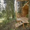 Auch eine kleine Waldbibliothek gibt es.