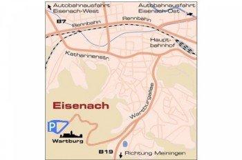 Anfahrt zur Wartburg