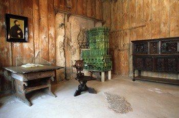 Die Lutherstube war ein kleines Quartier über dem ersten Burghof.