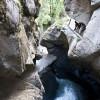Die Trümmelbachfälle gelten als die größten unterirdischen Wasserfälle Europas.