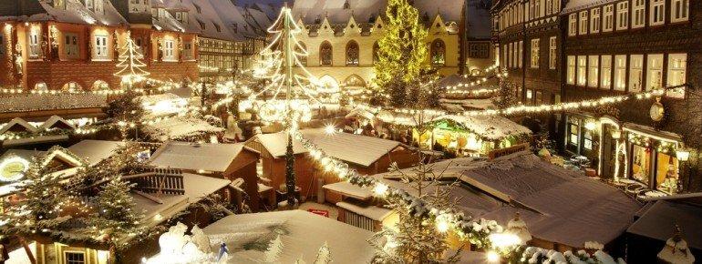 Weihnachtliche Stimmung in Goslar