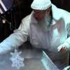 Eindrucksvoll ist das Schausieden das Halloren auf dem Weihnachtsmarkt.