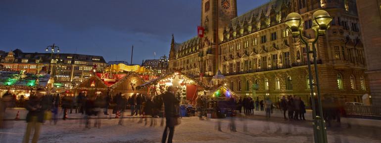 Die traumhafte Kulisse des Weihnachtsmarkts