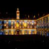 """Im prachtvollen Innenhof der Hofburg kreiert die einzigartige Licht- und Musikshow """"Solimans Traum"""" mit modernster Mapping-Technik eine magische Atmosphäre."""