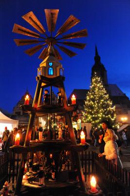 Am Weihnachtsmarkt gibt es Vieles zu sehen.