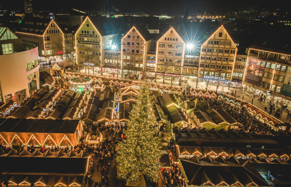 bilder weihnachtsmarkt ulm fotos impressionen. Black Bedroom Furniture Sets. Home Design Ideas