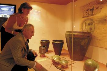 Spannend und kontrastreich, erlebnishaft und reizvoll präsentiert das Museum 7000 Jahre Geschichte.
