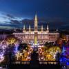 Der Christkindlmarkt in Wien ist von Mitte November bis 26. Dezember geöffnet.
