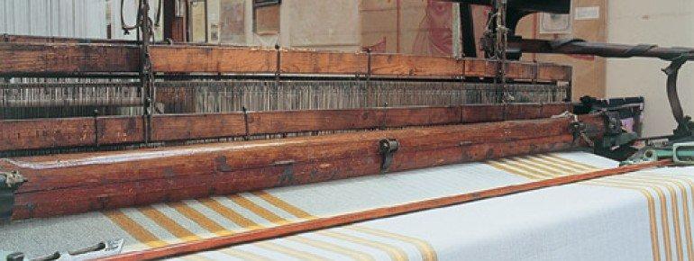Auch einen noch funktionsfähigen Webstuhl gibt es im Textilmuseum Zell im Wiesental