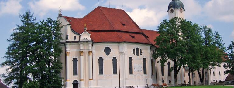 Die Wieskirche ist seit 1983 UNESCO-Weltkulturerbe.