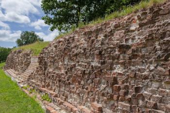 Die Waldemarsmauer ist mehr als 4 Kilometer lang.