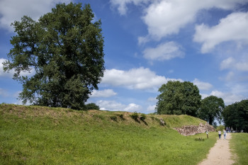 Das Danewerk diente den Dänischen Königen als Grenzbefestigung.