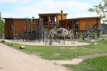 2011 wurden die WiesenWelten im Wildpark Güstrow eröffnet.