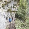 Die Schluchten erstrecken sich über 33 Kilometer und sind bis zu 170 Meter hoch.