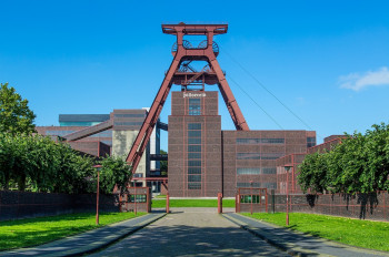 Die Zeche Zollverein ist Sinnbild für den Strukturwandel der Region.