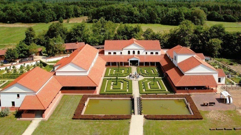 Plan La Villa Romaine
