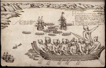 Abel Tasman when he arrived at the Golden Bay on the 18 December 1642.
